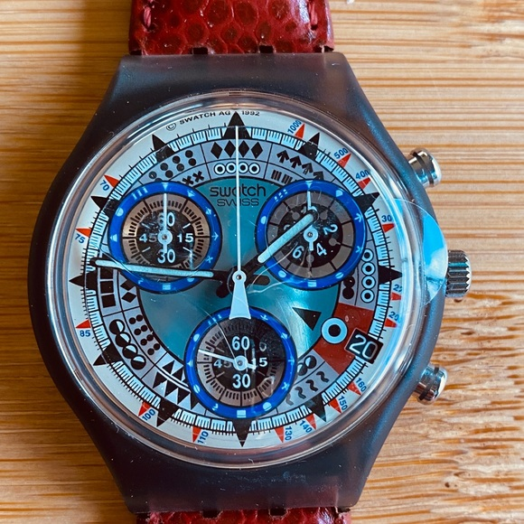 Swatch Other - NWT Vintage 1992 Swatch Watch AZT ECO